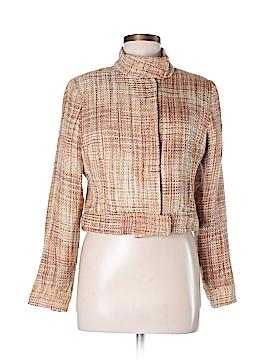 Carole Little Silk Blazer Size M