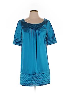 Cynthia Rowley Short Sleeve Silk Top Size 2