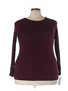 Alfani Long Sleeve T-Shirt Size 0X (Plus)
