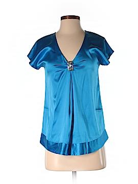 Rebecca Taylor Short Sleeve Silk Top Size 0