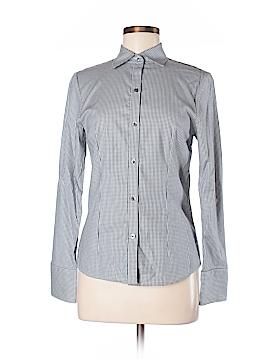 Pink Tartan Long Sleeve Button-Down Shirt Size 4
