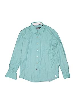 Robert Graham Long Sleeve Button-Down Shirt Size M (Youth)