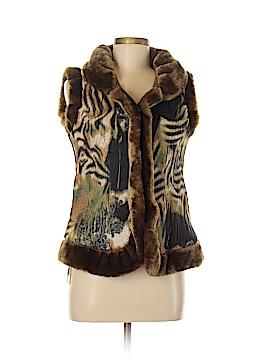 Aria Faux Fur Vest Size M