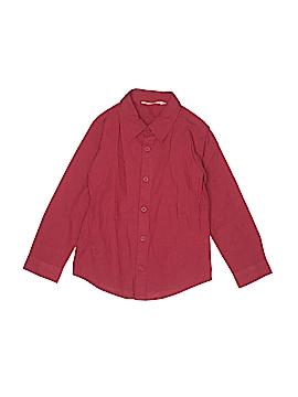 Beebay Long Sleeve Button-Down Shirt Size 6