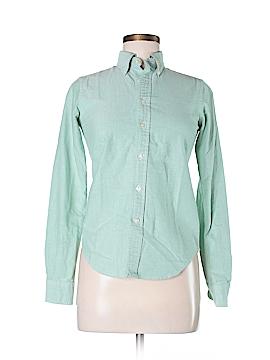 Ralph Lauren Rugby Long Sleeve Button-Down Shirt Size 0