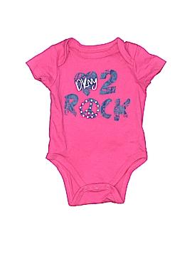 Dkny Baby Short Sleeve Onesie Size 0-3 mo