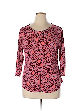 ECI 3/4 Sleeve Top Size XL