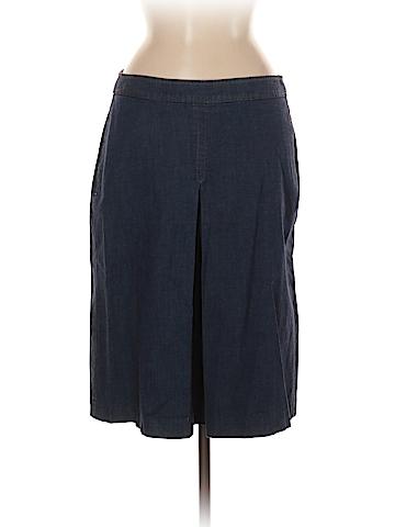 Theory Denim Skirt Size 8