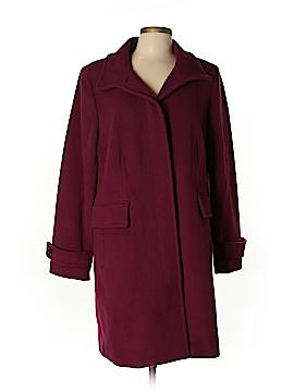 Lands' End Wool Coat Size L