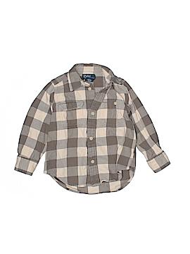 Polo by Ralph Lauren Long Sleeve Button-Down Shirt Size 3/3T