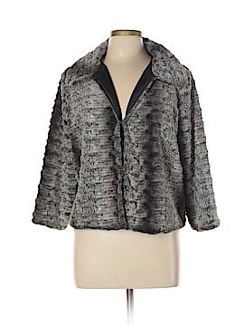 New Directions Faux Fur Jacket Size XL (Petite)