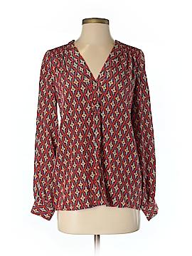 Kachel Long Sleeve Silk Top Size 0