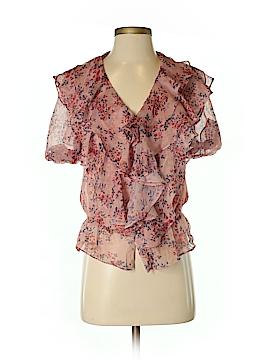 Ark & Co. Short Sleeve Button-Down Shirt Size S