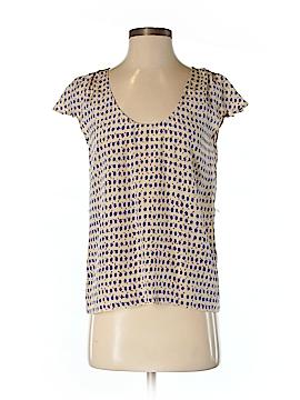 Corey Lynn Calter Short Sleeve Silk Top Size 2