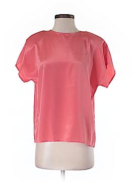 Christie & Jill Short Sleeve Blouse Size S