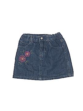 Faded Glory Denim Skirt Size 4T