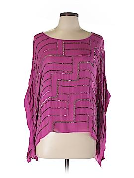 Parker 3/4 Sleeve Blouse Size M