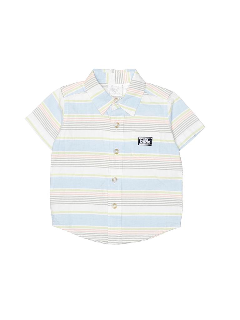 Koala Baby Boys Short Sleeve Button-Down Shirt Size 6 mo
