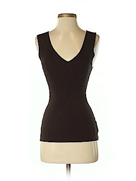 Allegory Sleeveless Silk Top Size S