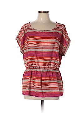 Banana Republic Factory Store Women Short Sleeve Blouse Size XL