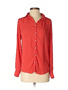 Chandi & Lia Long Sleeve Blouse Size XS