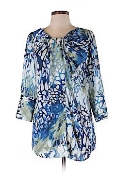 Farinaz Taghavi 3/4 Sleeve Blouse Size 6