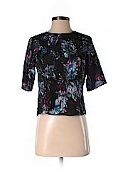Chelsea28 Women Short Sleeve Blouse Size XS