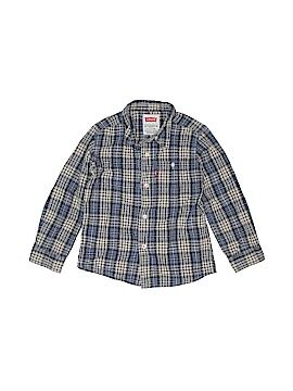 Levi's Long Sleeve Button-Down Shirt Size S (Kids)