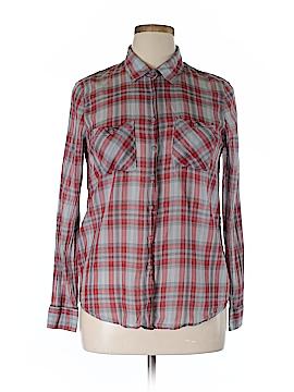 BCBGeneration Long Sleeve Button-Down Shirt Size L