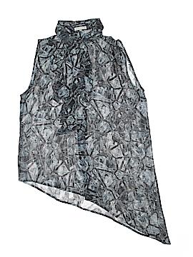 Leith Sleeveless Silk Top Size S