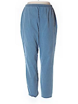 Liz & Me Casual Pants Size 22W Tall (Plus)