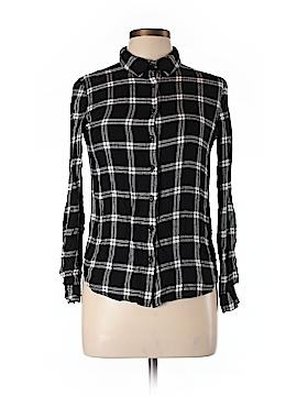 Romeo & Juliet Couture Long Sleeve Button-Down Shirt Size L