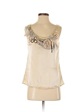 Corey Lynn Calter Sleeveless Silk Top Size 2