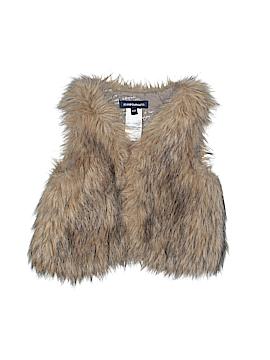 Jean Bourget Faux Fur Vest Size 6