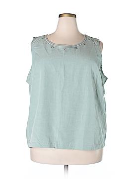 Koret Sleeveless Blouse Size 24W (Plus)