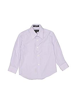 Bergamo New York Long Sleeve Button-Down Shirt Size 3T