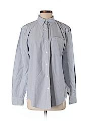 Joe Fresh Women Long Sleeve Button-Down Shirt Size S