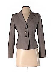 Ann Taylor Women Wool Blazer Size 0 (Petite)