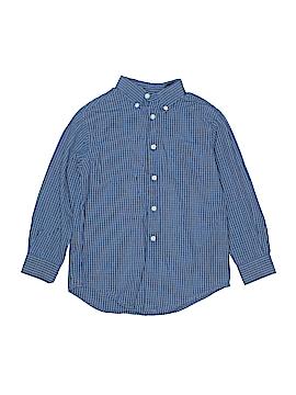 Class Club by Dillard's Long Sleeve Button-Down Shirt Size 7