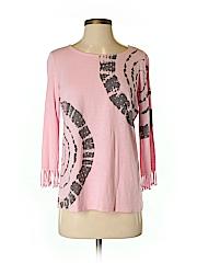 INC International Concepts Women 3/4 Sleeve Top Size S