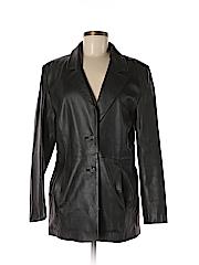 UD Utex Design Women Leather Jacket Size M