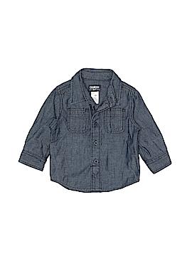 OshKosh B'gosh Long Sleeve Button-Down Shirt Size 12 mo