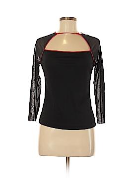 Vivienne Tam 3/4 Sleeve Silk Top Size Med (2)