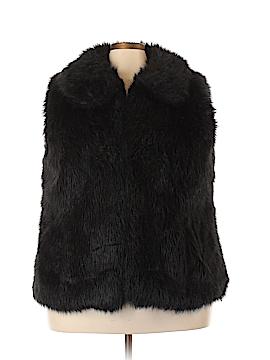 Rachel Roy Faux Fur Vest Size 3X (Plus)