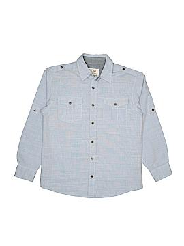 Pd&c Long Sleeve Button-Down Shirt Size 12