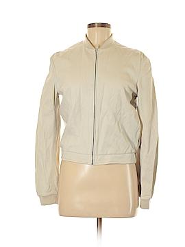 Pollini Leather Jacket Size 8