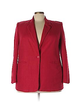 Nordstrom Silk Blazer Size 18 (Plus)