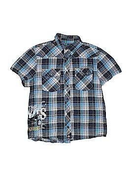 Dickies Short Sleeve Button-Down Shirt Size 12