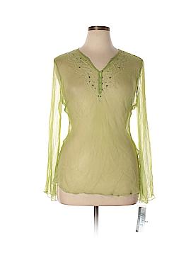 Nine & Company Long Sleeve Blouse Size 16