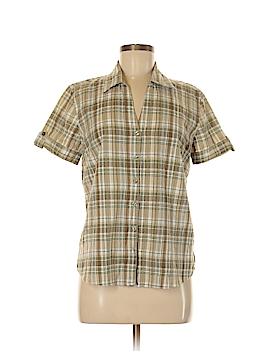 Erika Short Sleeve Button-Down Shirt Size S